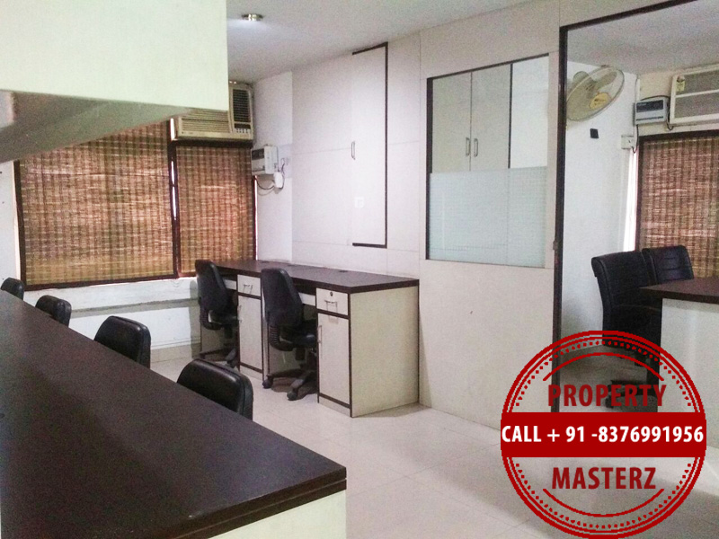 Furnished office space property on rent in nehru place 4