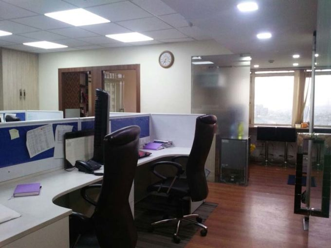 Looking for Office space on rent newly furnished 1000 sq ft Nehru place
