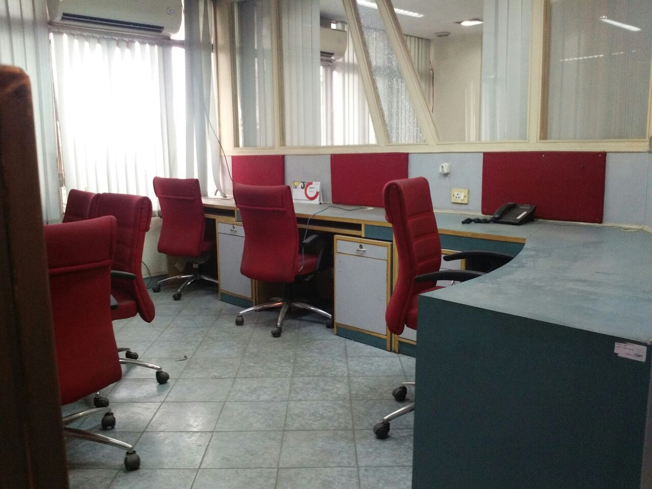 Furnished office space property on in nehru place on rent 1 cabin 25 work station