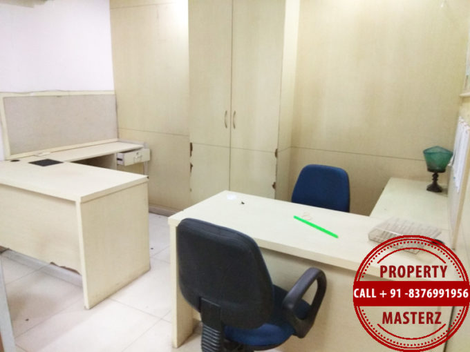 Furnished office space property on rent in nehru place