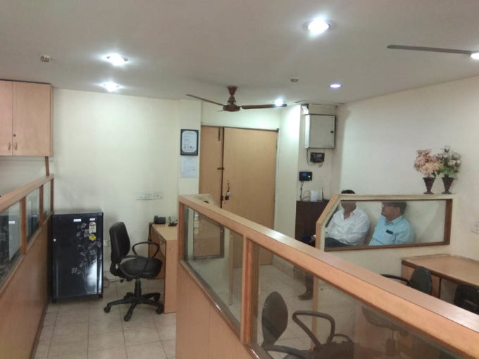 Chiranjeev tower 700 ft furnished office on rent nehru place