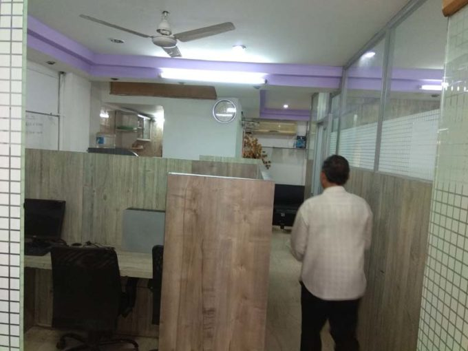 furnished office on rent nehru place 800 ft