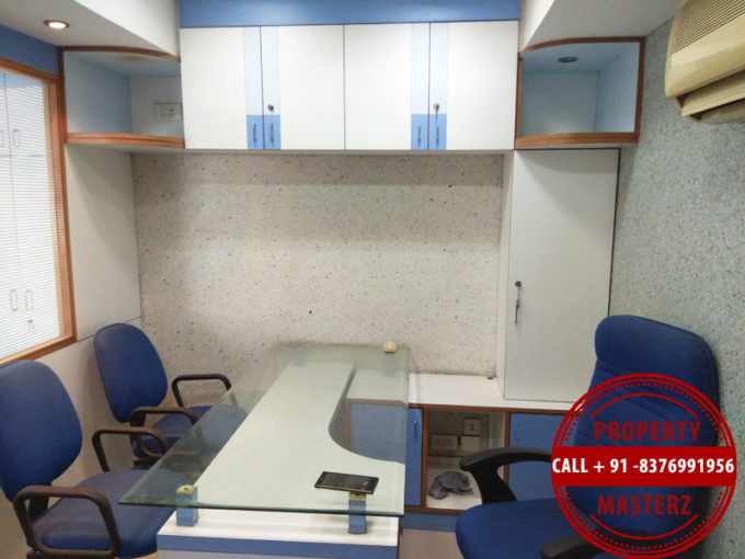 Furnished office space property on rent in nehru place hemkunt chambers