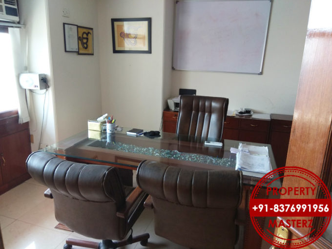 Chiranjeev tower furnished office space property on rent in nehru place