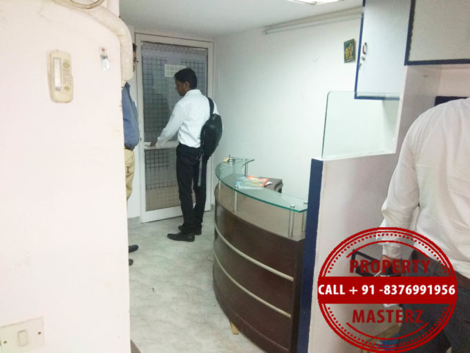 Furnished office space property on rent in ansal tower nehru place
