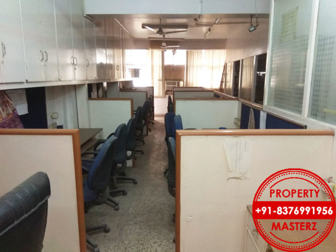 For Rent – lease commercial office space of  1000 sq ft in Nehru place