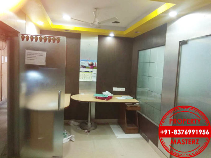 450 sq ft furnished office rent in Nehru Place