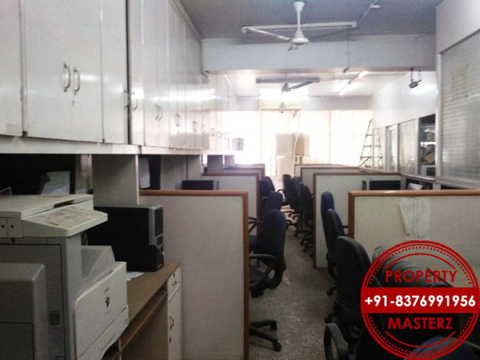 Commercial office space of 1150 sq  furnished rent Nehru place