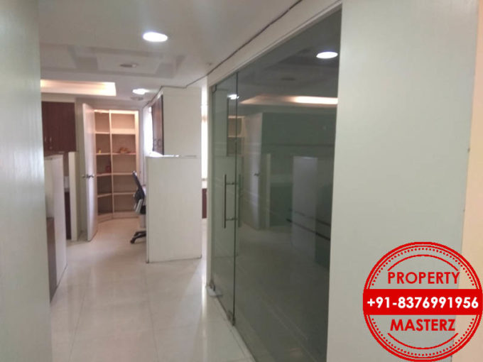 commercial office space of 725 sq. Ft. Is available for rent in nehru place