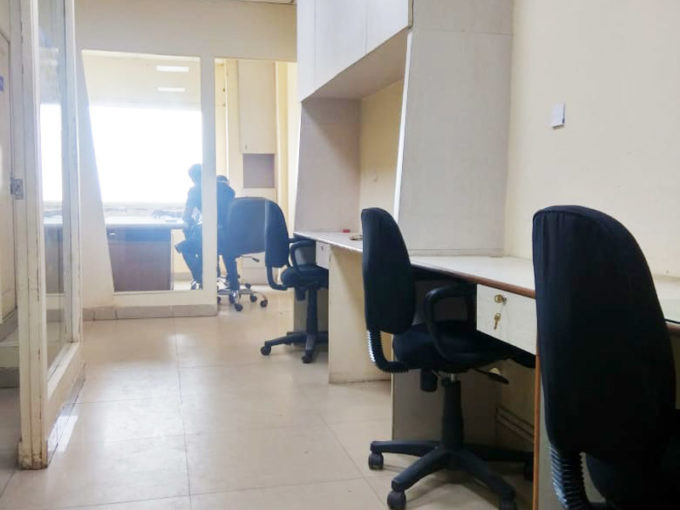 Commercial office on rent in Nehru Place