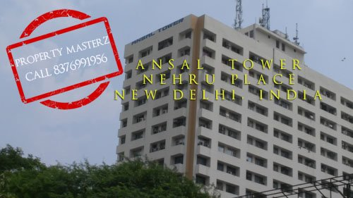 Commercial office space on sale ansal tower nehru place